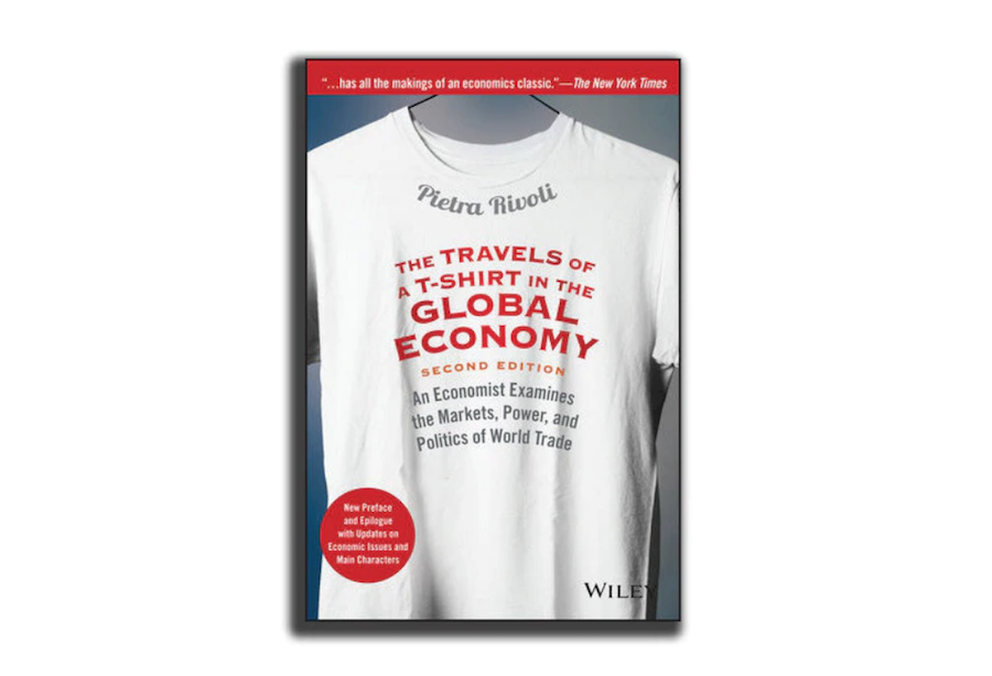 Travels of a T-Shirt, Pietra Rivoli's expansive study into manufacturing in a global economy